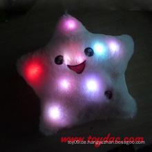 Plüsch sieben bunte Lichter Kissen
