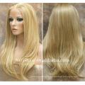 Perruques blondes naturelles traitées