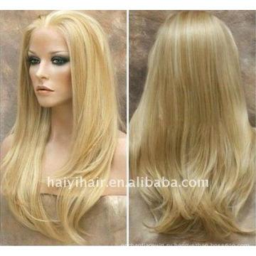 ООН обработанная Натуральная блондинка парики