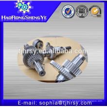 Eixo de engrenagem de aço S45C
