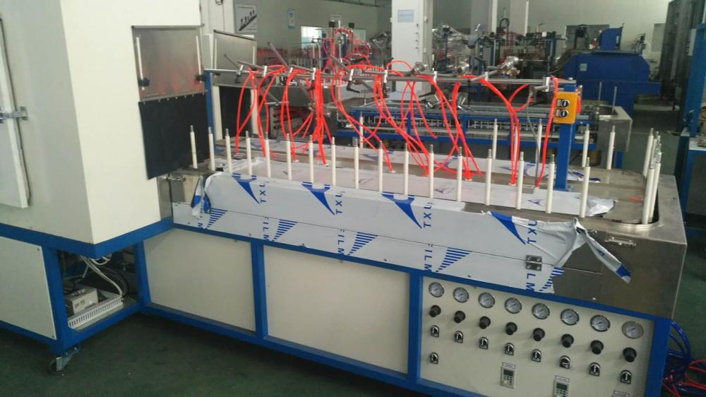 Spray Painting Machine With Uv Curing