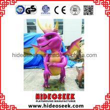 Latex-populäre Tierdinosaurier-Spielwaren auf Supermarkt