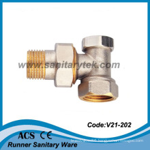 Angle Lockshield Radiator Valve (V21-202)