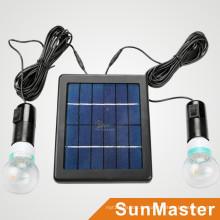 Mini Solar Lighting System Stromversorgungskit / Solar Home Lighting Kit