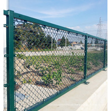 Cheap Galvanized /PVC/plastic coated /Coating Chain Link diamond mesh fences for sale