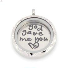 2015 необычные 22мм серебро Бог дал мне, что ты любишь плавающие пластины для 30 мм гостиной стекло медальон