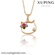 32687 Xuping jewelry wholesale china Colgante de oro con circonita para regalos