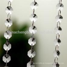 China Lieferant Wohnzimmer Küche dekorative Perlen Vorhänge Modelle