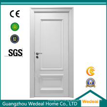 White Primed Single Panel Lacquer Wooden Door Factory
