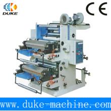 Tow-Color T-Shirt Bolsa de plástico Tipografía / Máquina de impresión flexográfica para la venta (YT-2600)