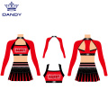 Conjuntos de 3 piezas Cheer Crop Top