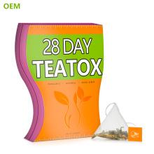 Großhandel Chinesische Organische Schönheit Detox Dünner Tee Fit Tee Detox Dropshipping Private Label Skinny 14 Tag Abnehmen Detox Tee
