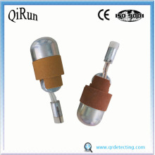 2-In-1 Sublance Compound Probe untuk Logam Molten
