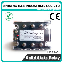 SSR-T40AA-H CE genehmigt 40A AC zu AC Panel Mount Solid State Relay