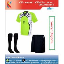 Latest football uniform soccer wear / football costumes / soccer wear
