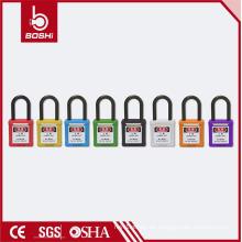 2016 OEM mit Qualität Warrantee Fabrik Direkt Stahl & Nylon Sicherheit Vorhängeschloss BD-G11 LOTO Lockout mit Keyed Alike & Different