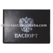 2015 Dernier cadeau fabriqué en Chine titulaire de passeport noir pu & pvc