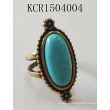 Retro Rings with Blue Stones