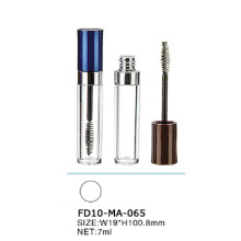 Nouveau design Fashion vide mascara cas transparent