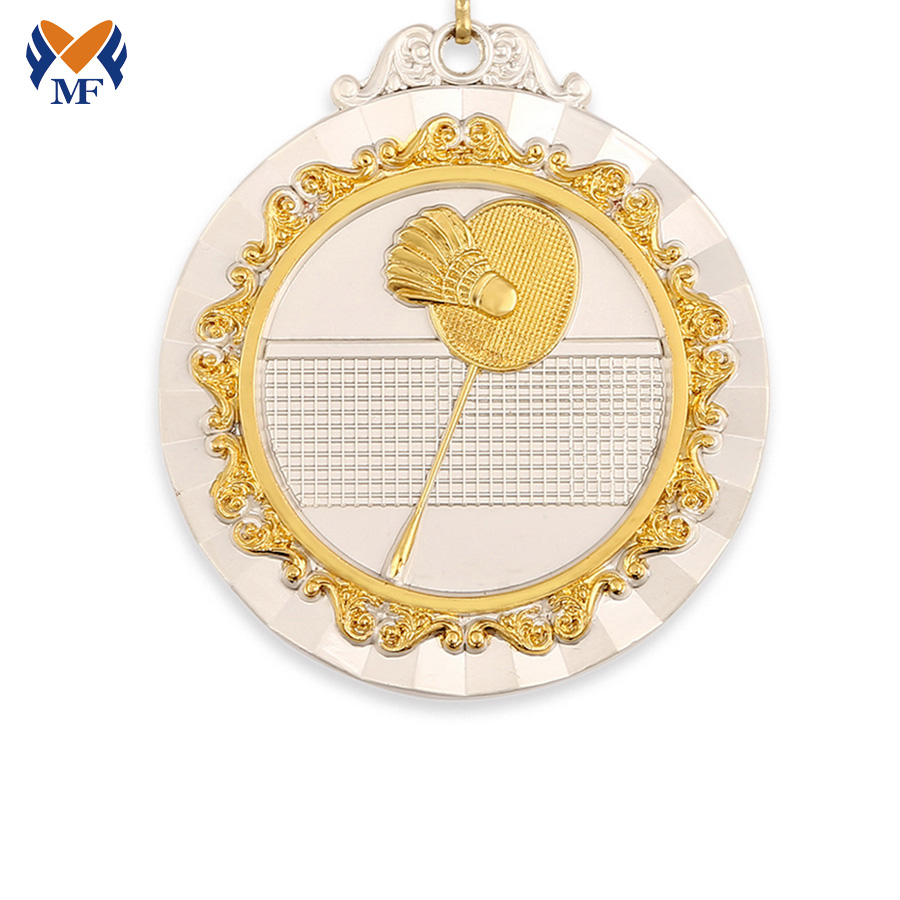 Badminton Players Medal