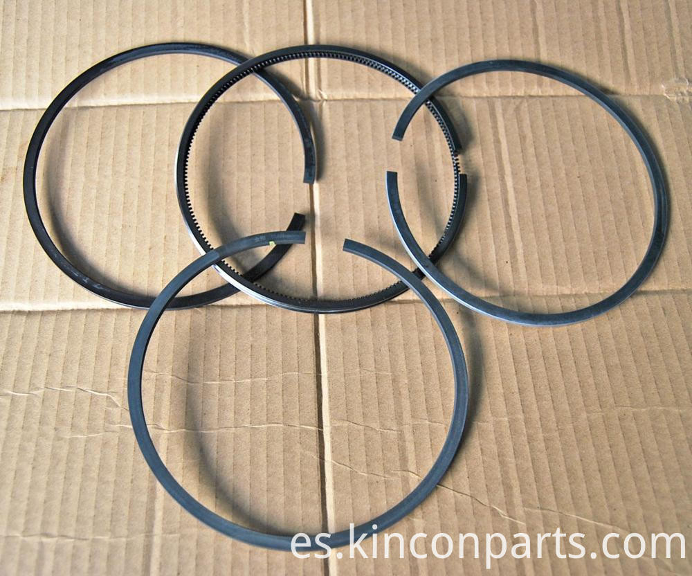 Low Friction Piston Rings