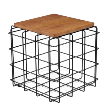 NewDesign Small Square Restaurant Coffee WoodTop Tea Tables