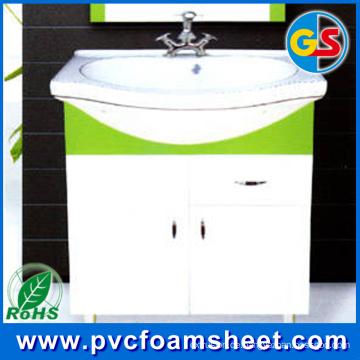 PVC-Schrank-Schaum-Blatt für Haus-Gebäude (Dichte: 0.5 und 0.55g / cm3)