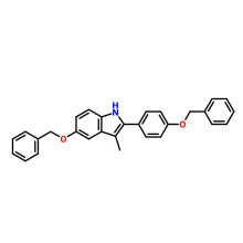 198479-63-9  5-(Benzyloxy)-2-(4-(benzyloxy)-phenyl)-3-methyl-1H-indole