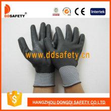 Nylon Black Nitrile Ultra Thin Fully Coated Gloves, CE (DPU420)