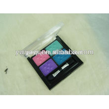 Hot new products, 4 color eyeshadow glitter eye makeup