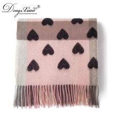 Nuevos productos 2017 bufandas comprobadas de lana a cuadros de productos innovadores con muchos amores