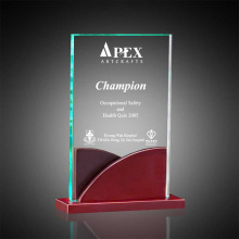 Custom acrylic trophy base case trophy factory