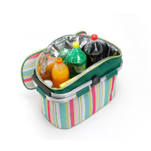 large capacity Lunch Box Bag Food Freezable Shoulder Lunch Bag 16L Insulated Thermal Cooler Lunch Box Bag