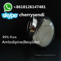 99% polvo puro Amlodipine Besylate polvo CAS 88150-42-9 drogas antianginosas farmacéutica