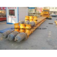 Lsy 219-4 / 6/8/9/10/12/15 Transportadora helicoidal para instalação de mistura de concreto