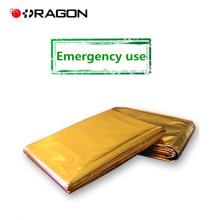 DW-EB01 Blanket reflects body heat silver emergency blanket