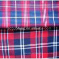 100% Baumwolle Garn gefärbt Stoff / Männer Shirting Stoff / Baumwollgewebe 40sx40s 100 Baumwollgarn gefärbtes Gewebe