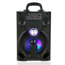 2018 New product Cell phone bluetooth louder speaker with kareoke function
