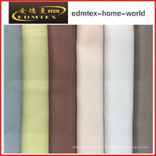 100% Polyester Blackout Fabric pour rideaux EDM4578