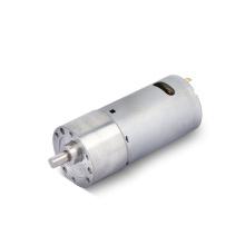Large Torque 15kg cm Eccentric shaft 37v 37mm dc 60 rpm gear motor