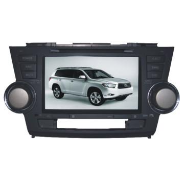 Автомобильный DVD-диск Yessun 8 дюймов для Toyota Highlander (TS8626)