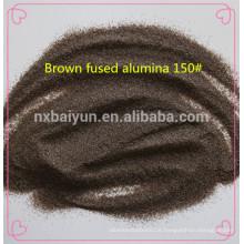 Braune geschmolzene Tonerde-Schleifmittel
