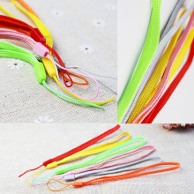Мульти-цвет U веревку для мобильного телефона ремешок шнур и ключ