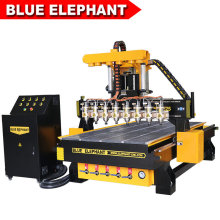 China Best 1325 Multi Head CNC Wood Router Carving and Engraving Machine for Sale