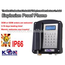 Téléphone antidéflagrant Atex pour téléphone militaire Ex 200