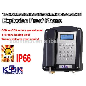 Telefone à Prova de Explosão Militar Ex 200 Atex