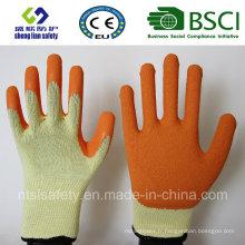 Gants givrés au latex, Gants de travail de sécurité de finition sablonneuse (SL-R501)