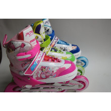 Kids Adjustable Skate with PU Wheel (YV-203)