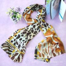 Чистый шелковый шарф
