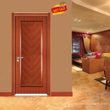 La conception populaire acajou porte en bois plein E-S020